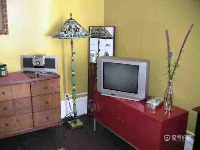 意大利风格两室两厅公寓古典灯具效果图