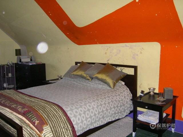 美式风格一室一厅10平米卧室创意墙面装修效果图