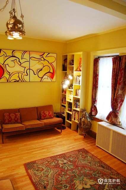 温馨简约一居室 现代时尚美家