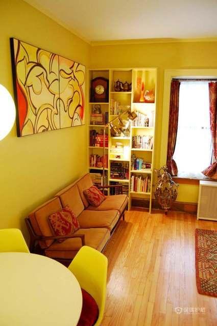 西班牙风格三室客厅装修效果图