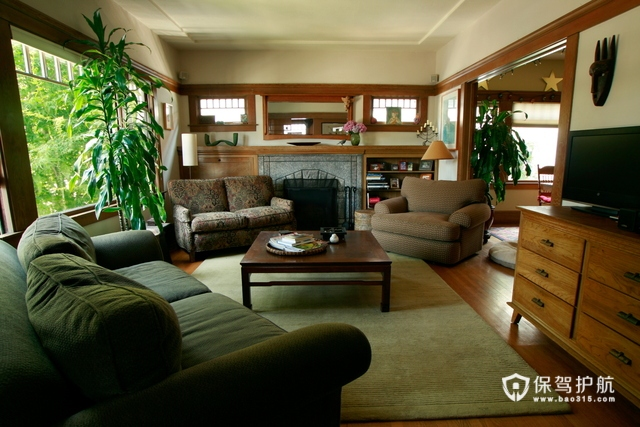 美式家居设计 惬意温馨别墅