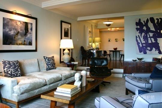 简洁家居装 温馨二居室