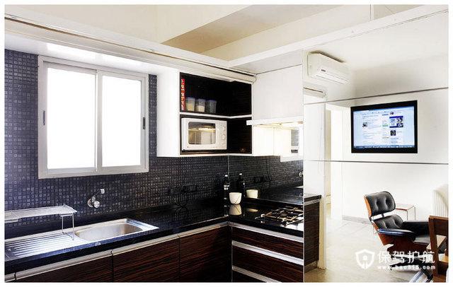 简约二居 淳朴典雅居室 海外家居,简约风格,富裕型装修,二居室装修