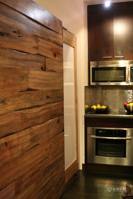 120平东南亚风公寓温馨厨房橱柜装修效果图