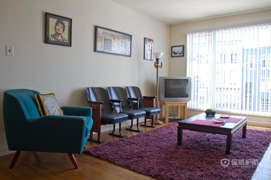 现代古典风格客厅软装搭配装修效果图
