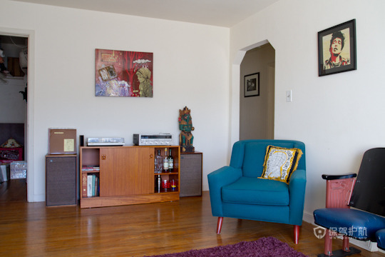 90平摩洛哥风格客厅装修效果图