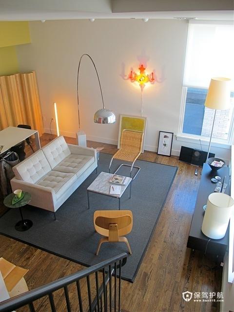 艺术与家具的融合 极致简约复式房
