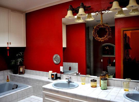 欧式风格别墅卫生间创意装修效果图