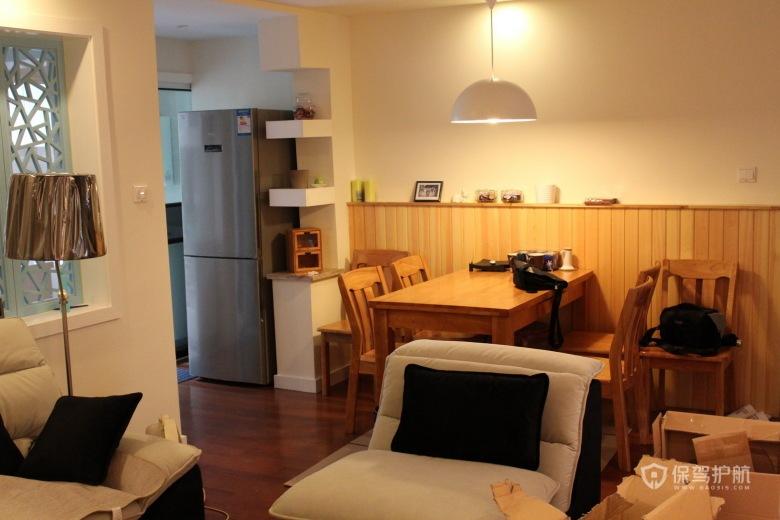 80平宜家风格小户型餐厅软装效果图