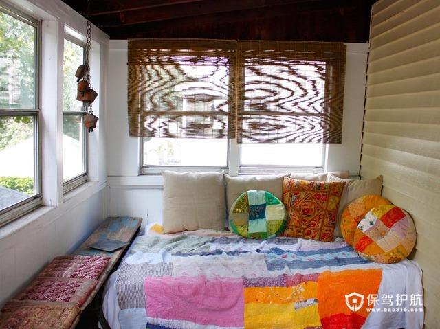 浓情异域风  东南亚式loft别墅 别墅装修,130平米装修,富裕型装修,东南亚风格,阳光房,榻榻米