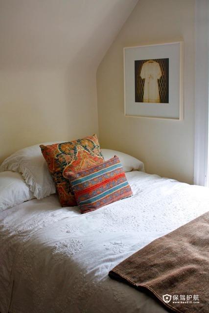 浓情异域风  东南亚式loft别墅 别墅装修,130平米装修,富裕型装修,东南亚风格,卧室,床