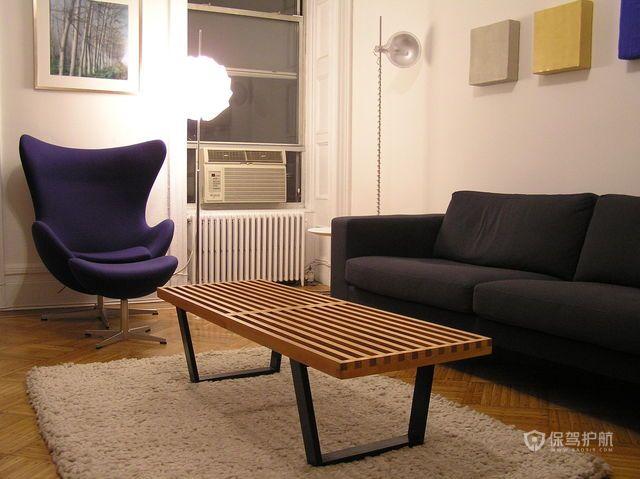 90平简约公寓客厅装修效果图