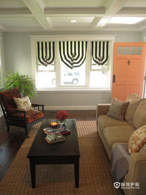 淡淡的色彩 16.4万打造简约三居室