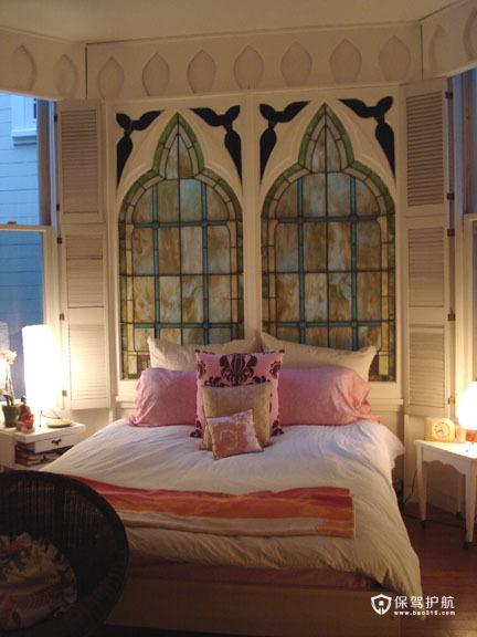 浓情异域卧室装 温情公寓房