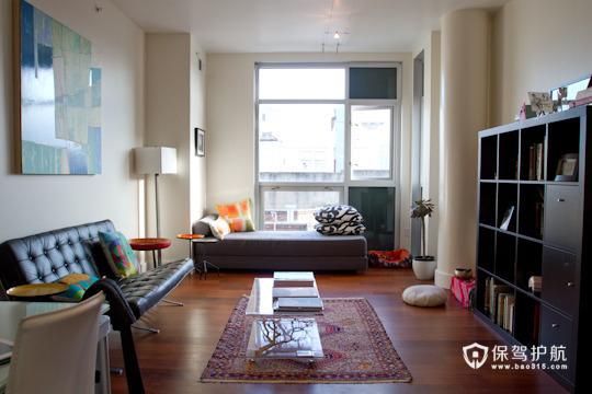 黑色沉稳设计 时尚简洁公寓