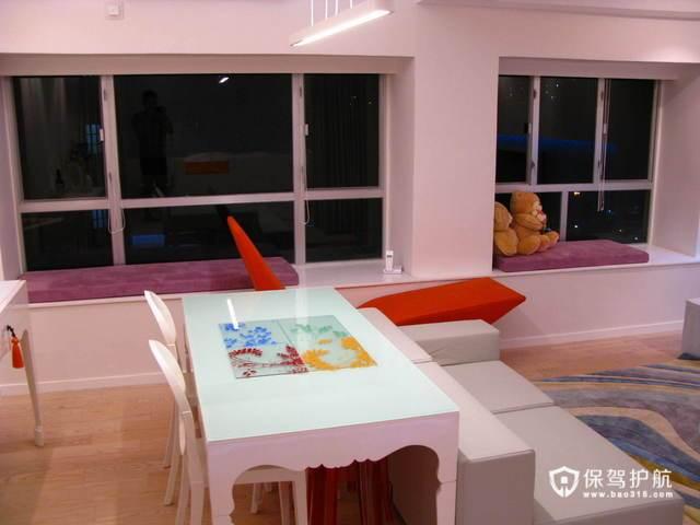 开放式简约公寓 流畅线条极富现代感