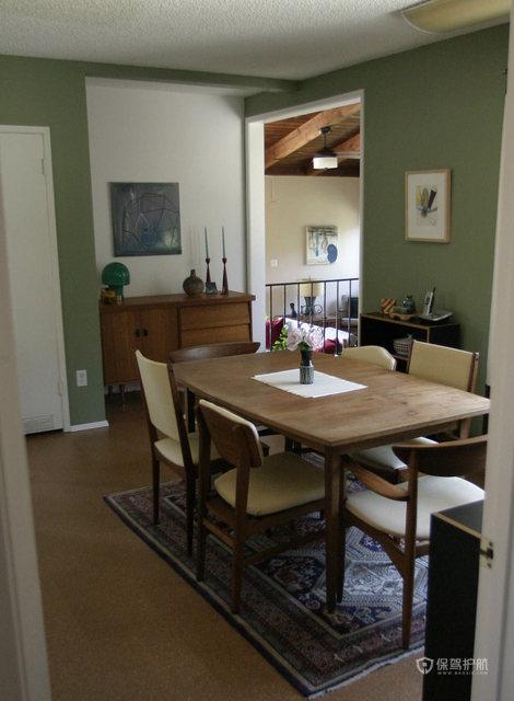 文艺挑高洋楼 处处弥漫家的温馨 跃层装修,100平米装修,经济型装修,欧式风格,海外家居,餐厅,餐桌,舒适
