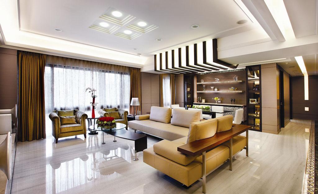 禅风意境中式风 奢华质感公寓房