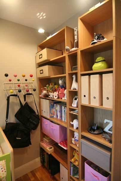 裸色儿童房 给孩子一个自然舒适小空…