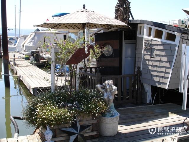 古典艺术船屋 从细节感受海上渔人文化