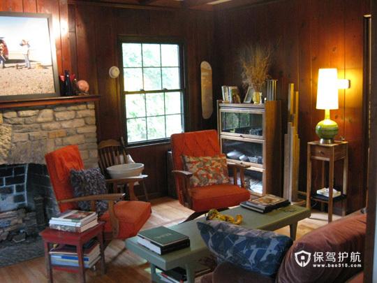 美式乡村小木屋 享受休闲温馨时刻