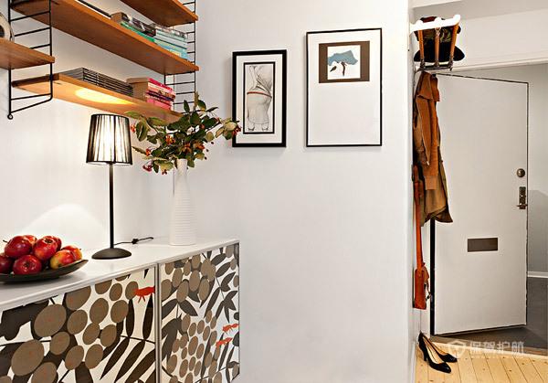 开放式+收纳设计 41平小公寓宽敞舒适