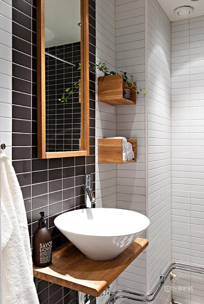 40平宜家风格小户型卫生间装修效果图