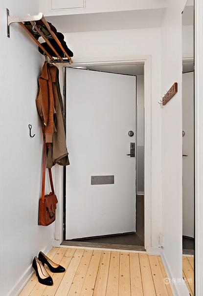 40平宜家风格小户型公寓玄关门厅装修效果图
