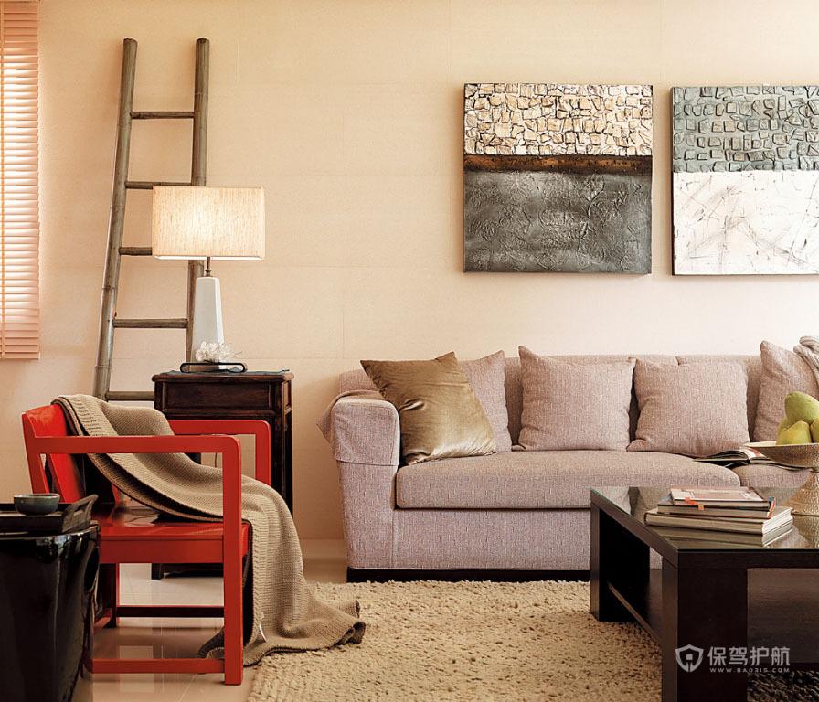 空间设计的东方意念 中式公寓房