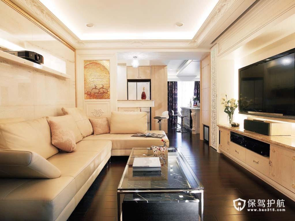 法式时尚古典 新古典风一居室