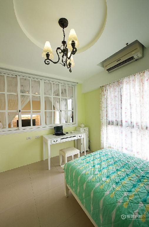 三室两厅韩式风格卧室灯具搭配效果图
