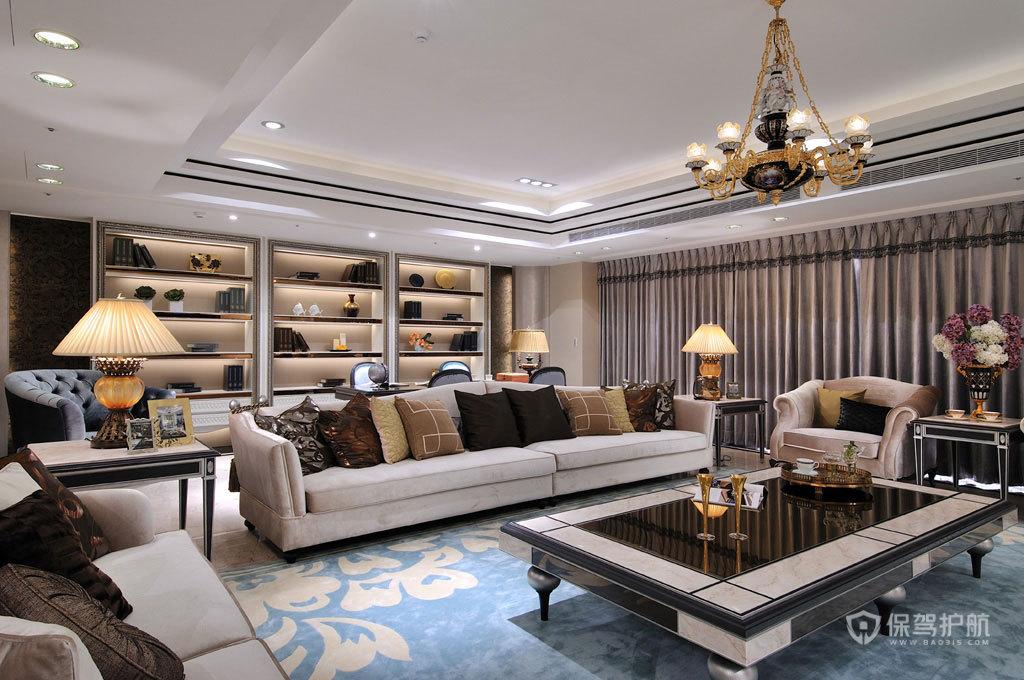 欧式新古典殿堂 200平四房豪宅