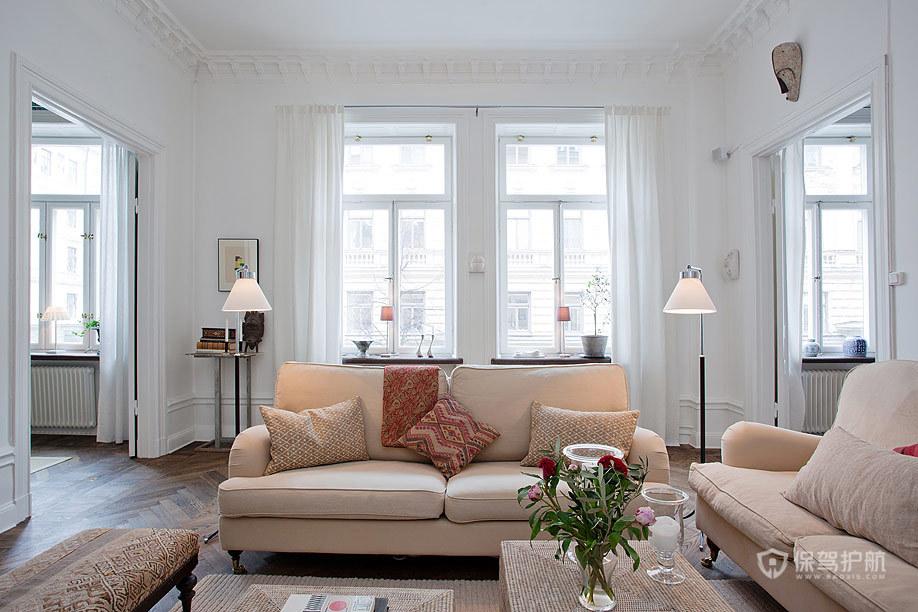 紧随时尚潮流 北欧公寓也要混搭一把