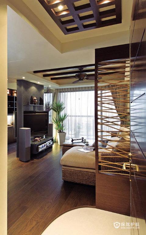 巴厘岛之恋 浪漫东南亚风两居室