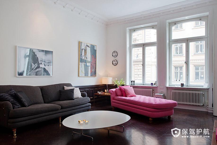 色彩北欧公寓 微小改变空间大精彩