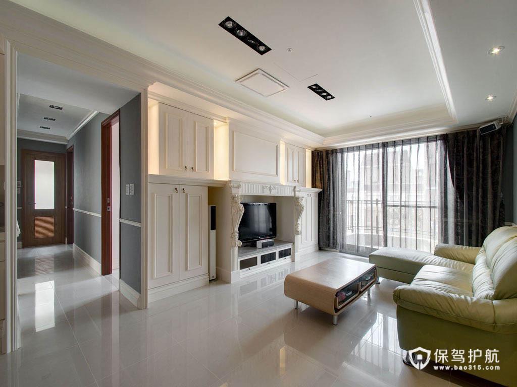 新古典风二居室 古典精致优雅居家