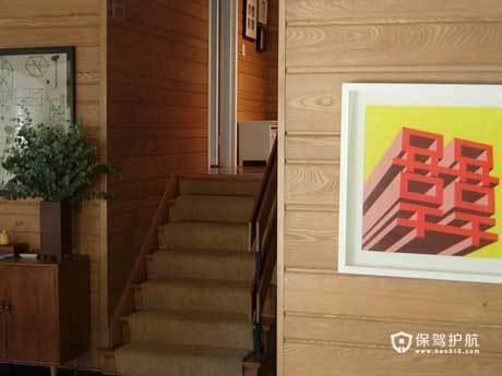 亲切质朴阁楼 实木打造原生态自然家居 阁楼,复式装修,经济型装修,简约风格,海外家居,楼梯,原木色