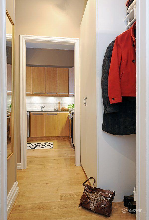 小户型全利用 白色开放式一室户