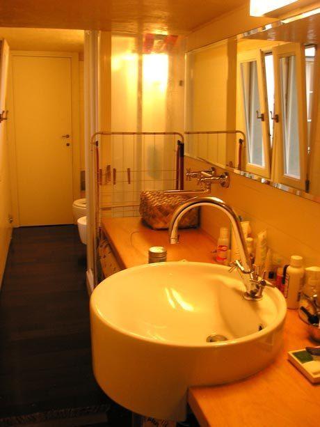 60平米小户型跃层简约浴室浴室柜装修…