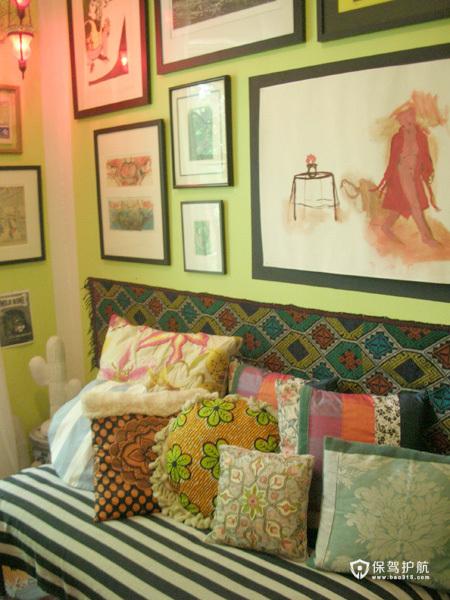 浪漫东南亚风 梦幻式一居公寓