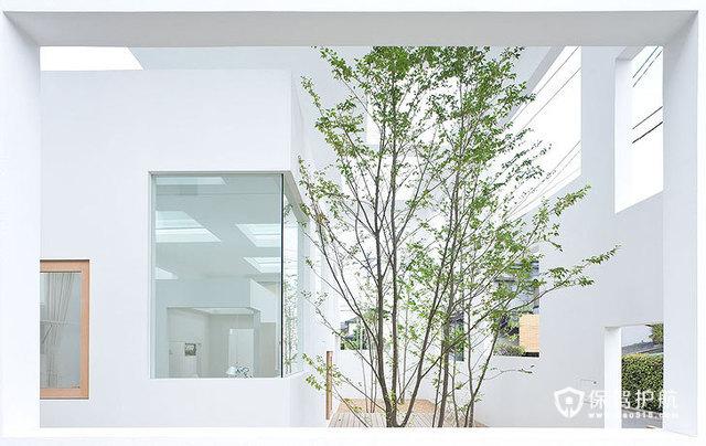 白色立体几何房屋 另类家居体验