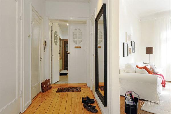 壁纸控的家 色彩点缀白色两居
