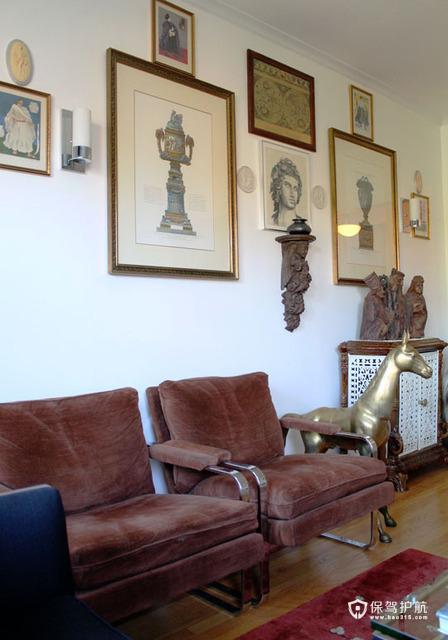 创意艺术空间 浓郁东南风混搭公寓