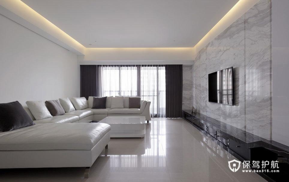 温润奶白色简约家 纯净美感高雅居室