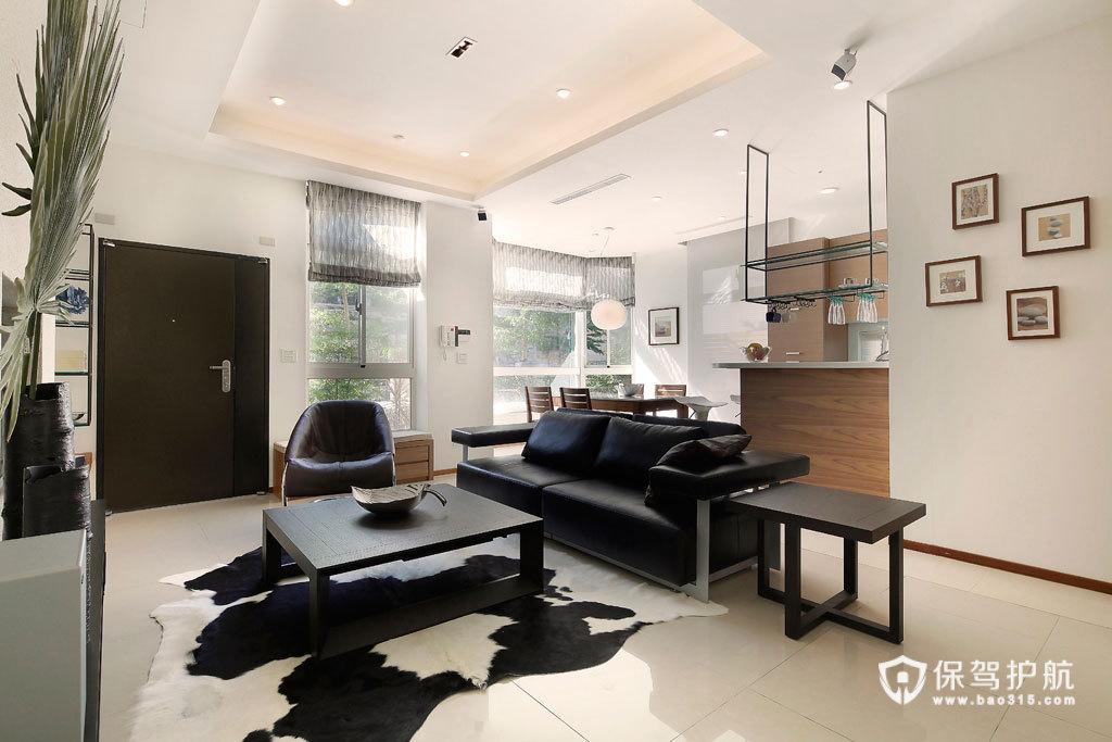 自然人文休闲空间 简约舒适四居室