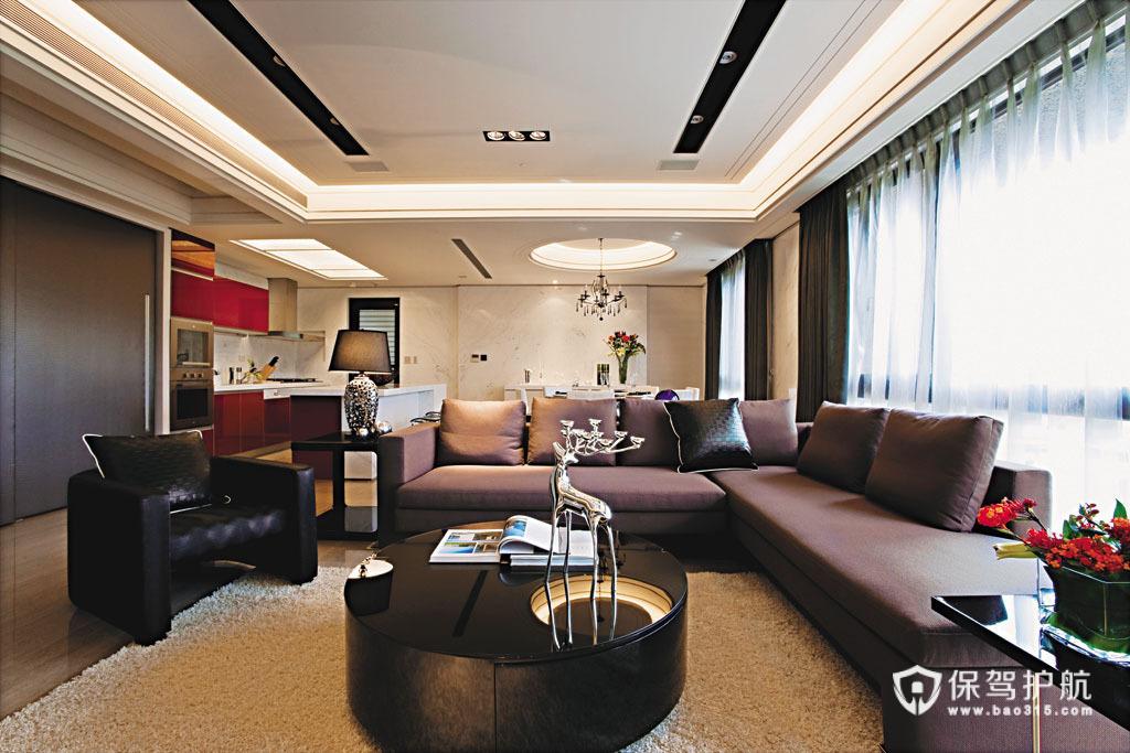 低调奢华一居室 利落线条勾勒完美空间