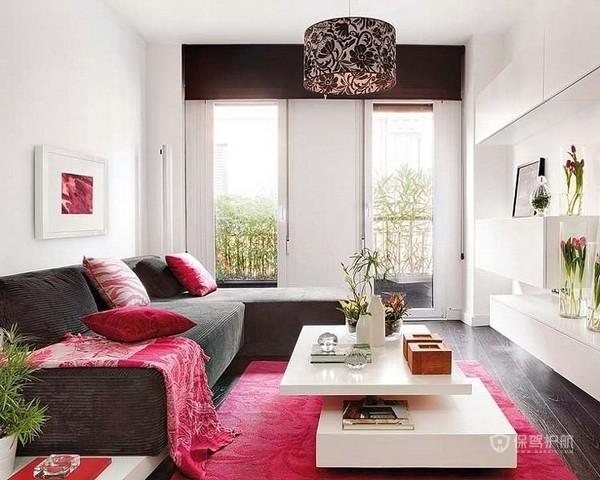 栖息雨林生活 甜美多彩时尚双层公寓