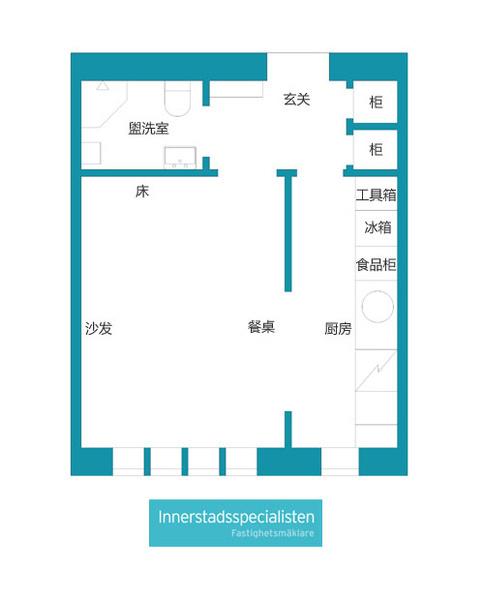 29平单身小公寓 彰显原生态气质