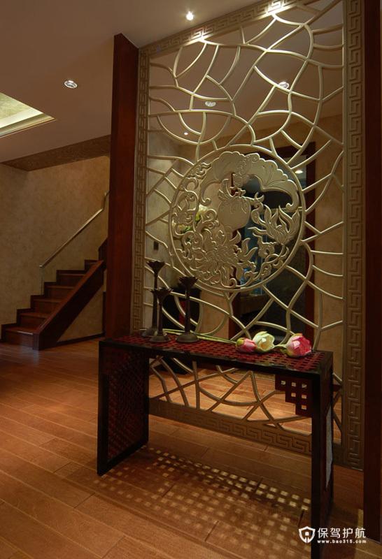 自然阳台水景 东南亚异域风情别墅
