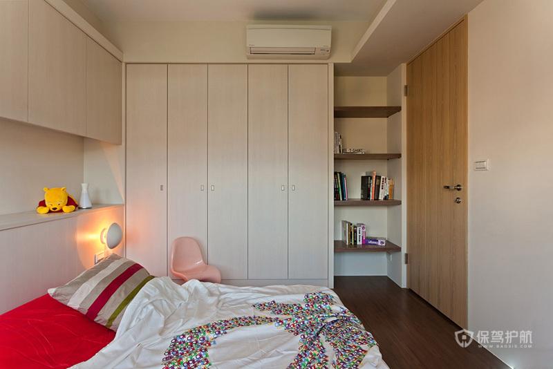 130平台湾北欧风四房卧室装修效果图